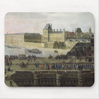 View of the Pont-Neuf and the River Seine Mouse Pad