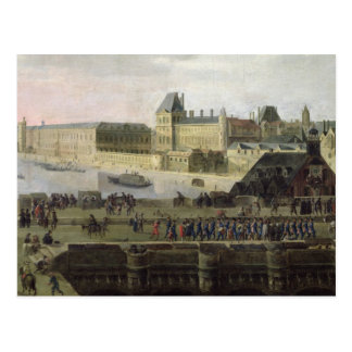 View of the Pont-Neuf and the River Seine Postcard