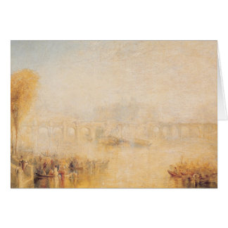 View of the Pont Neuf, Paris Card