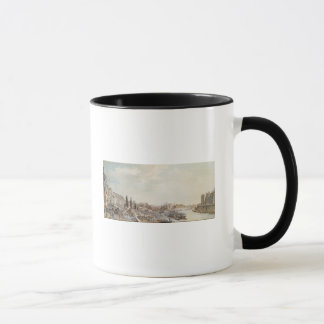 View of the Port Saint-Paul, Paris, 1782 Mug