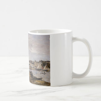 View of the Port, Trouville by Eugene Boudin Coffee Mug