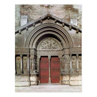 View of the portal postcard