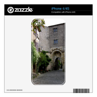 View of the Porte des Ormeaux (photo) Skin For iPhone 4S