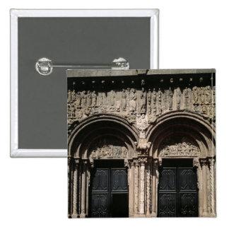 View of the Portico de las Platerias Pinback Button