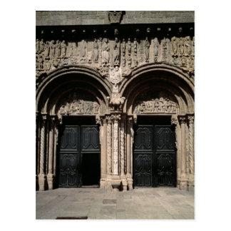 View of the Portico de las Platerias Postcard