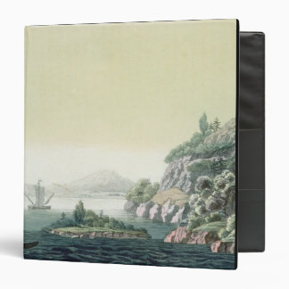 View of the Potomac river near Mount Vernon (colou 3 Ring Binder