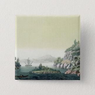 View of the Potomac river near Mount Vernon (colou Button