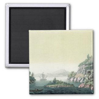 View of the Potomac river near Mount Vernon (colou Magnet
