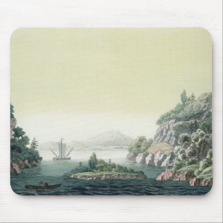View of the Potomac river near Mount Vernon (colou Mouse Pad