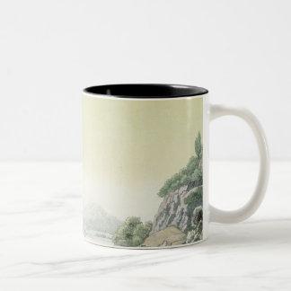 View of the Potomac river near Mount Vernon (colou Two-Tone Coffee Mug