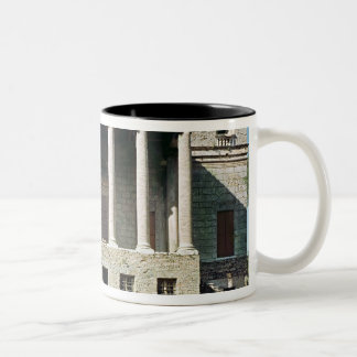 View of the principal facade, built in 1559-60 Two-Tone coffee mug