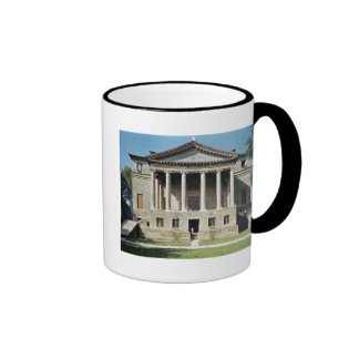 View of the principal facade, built in 1559-60 ringer coffee mug