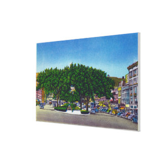 View of the Public Square # 2 Canvas Print