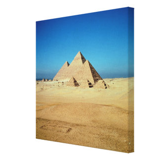 View of the Pyramids Canvas Print