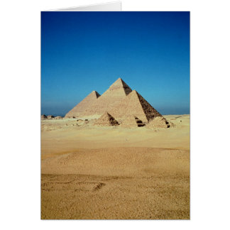 View of the Pyramids Card