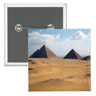 View of the Pyramids of Cheops Pinback Button