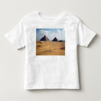 View of the Pyramids of Cheops Toddler T-shirt
