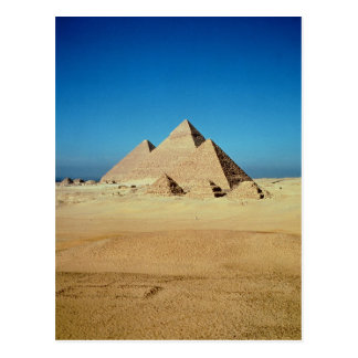 View of the Pyramids Postcard