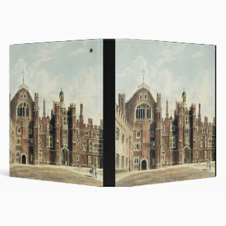 View of the Quadrangle at Hampton Court Palace fro 3 Ring Binder