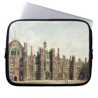 View of the Quadrangle at Hampton Court Palace fro Laptop Sleeve