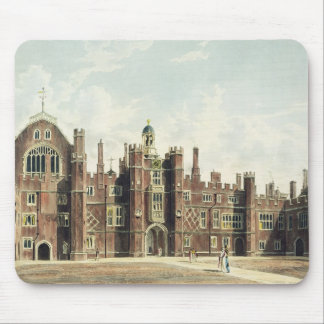 View of the Quadrangle at Hampton Court Palace fro Mouse Pad