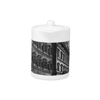 View of the Quirinal Palace on the building Teapot