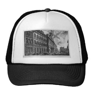 View of the Quirinal Palace on the building Trucker Hat