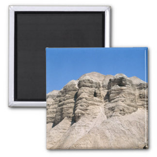 View of the Qumran Caves Refrigerator Magnet