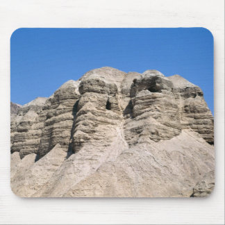 View of the Qumran Caves Mouse Pad