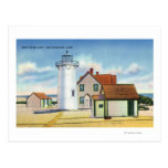 View of the Race Point Lighthouse Postcard