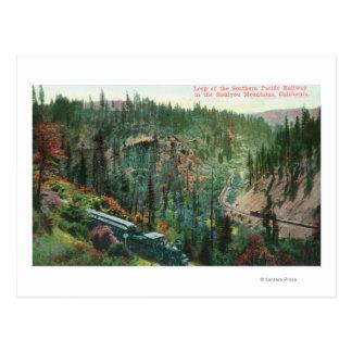 View of the Railroad Loop Postcard