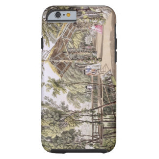 View of the Reisenberg Gardens near the city of Vi Tough iPhone 6 Case