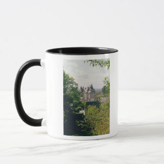 View of the restored chateau from the north mug