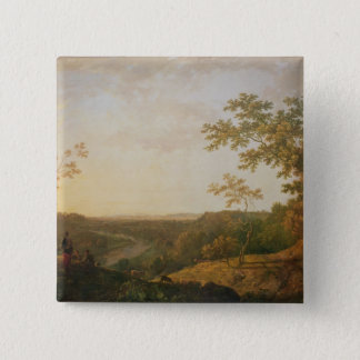 View of the River Dee, c.1761 Button