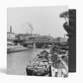 View of the River Spree, Berlin, c.1910 3 Ring Binder