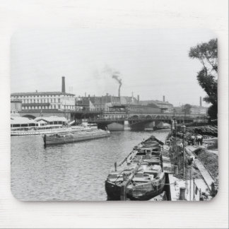 View of the River Spree, Berlin, c.1910 Mouse Pad