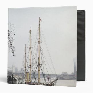 View of the River Thames with RRS Discovery Binder