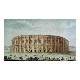 View of the Roman Amphitheatre Poster