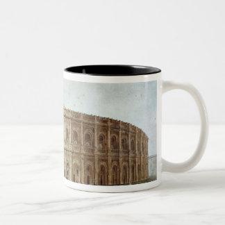 View of the Roman Amphitheatre Two-Tone Coffee Mug