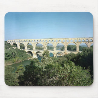 View of the Roman aqueduct, built c.19 BC Mouse Pad
