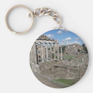 View of the Roman Forum of 179 AD Keychains
