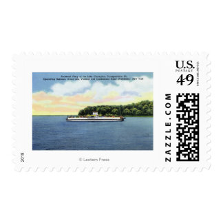 View of the Roosevelt Ferry Postage