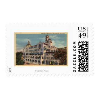 View of the Rotunda Wing at the Mission Inn Postage