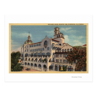 View of the Rotunda Wing at the Mission Inn Postcard