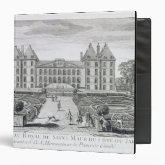 View of the Royal Chateau of Saint Maur from the g 3 Ring Binder