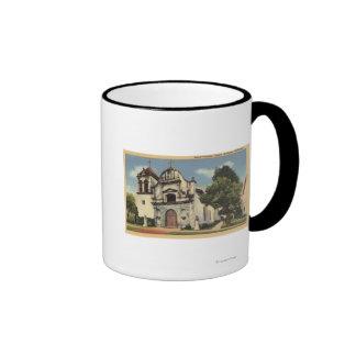 View of the Royal Presidio Chapel Coffee Mug