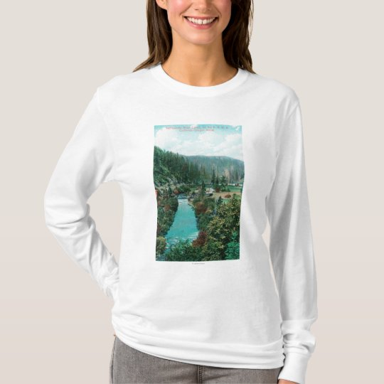 View of the Sacramento River Canyon on SP T-Shirt