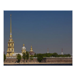 View of the Saints Peter and Paul Cathedral 2 Poster