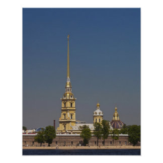 View of the Saints Peter and Paul Cathedral Poster