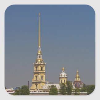 View of the Saints Peter and Paul Cathedral Square Stickers